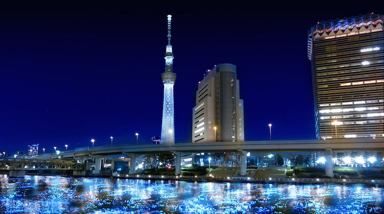 隅田川スカイツリー
